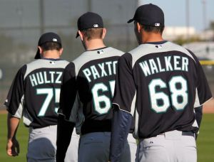 Hultzen, Paxton and Walker - The Big Three
