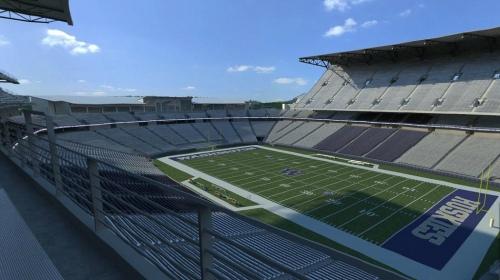 Husky Stadium - North and West Side