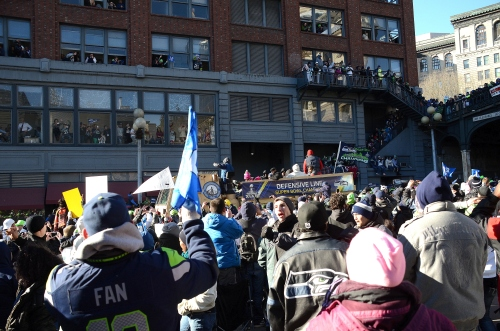 Seahawks parade and gymnastics 110